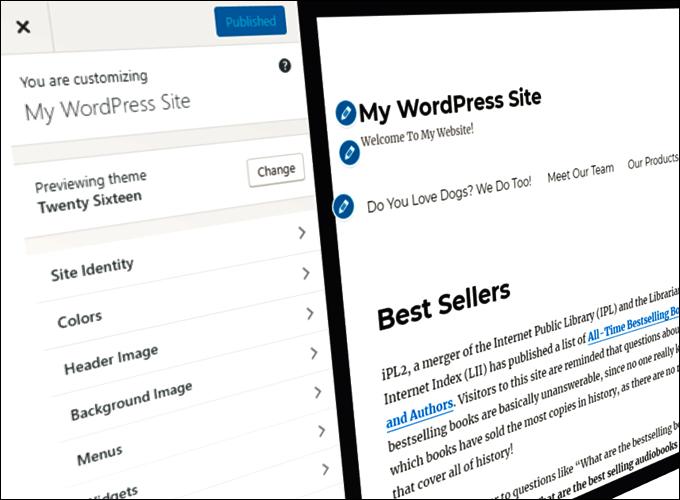 How To Edit Your WordPress Theme Using The WordPress Theme Customizer