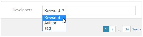 WordPress.org - Filtered Plugin Search