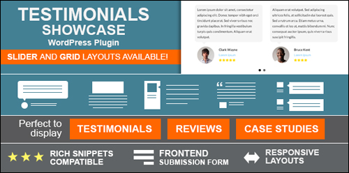 Testimonials Showcase WordPress testimonials plugin