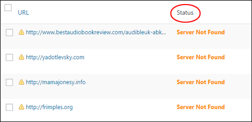 Link Status