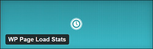 WP Page Load Stats WordPress Plugin