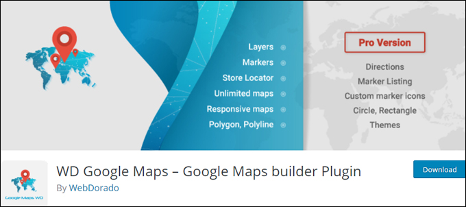 WD Google Maps