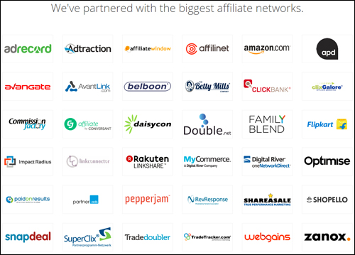 Datafeedr has partnered with the world's biggest affiliate networks.