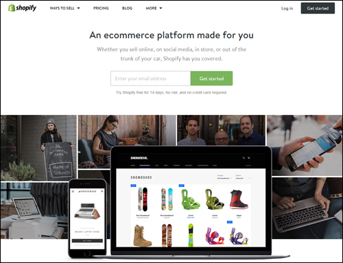 Shopify - e-Commerce Platform
