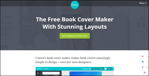 Canva - Free Book Cover Maker