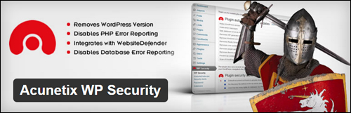 Acunetix WP Security - WordPress Plugin
