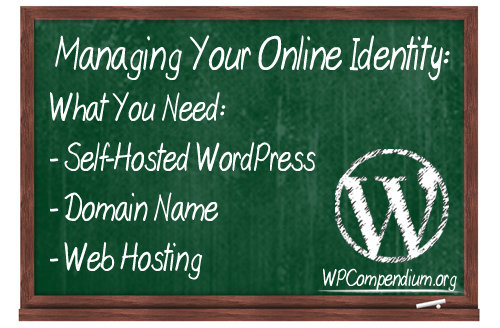 WordPress lets you easily manage your online identity!