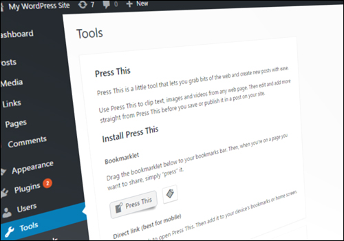 How To Use The Press This WordPress Tool