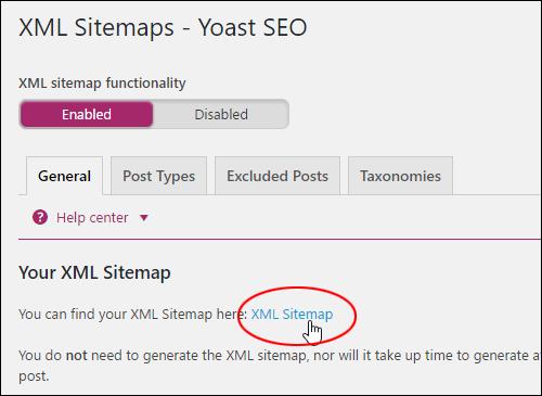 XML Sitemaps - Yoast SEO