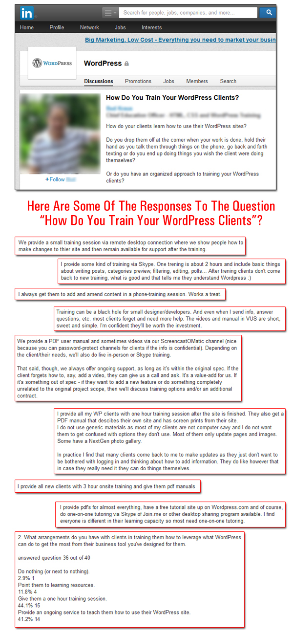 How Do You Train Your WordPress Clients?