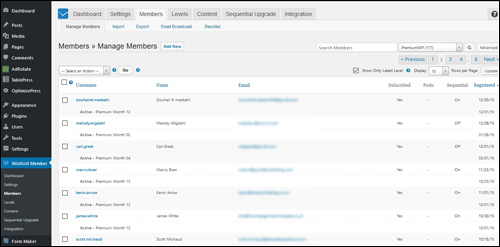 Wishlist Member - WordPress Membership Plugin