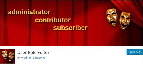 User Role Editor - WordPress Plugin