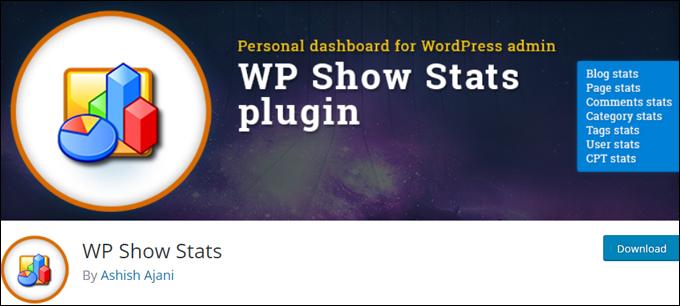 WP Show Stats plugin