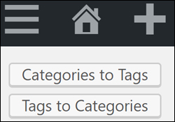 How To Convert WordPress Post Categories Into Tags And Vice Versa