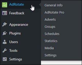 AdRotate Menu