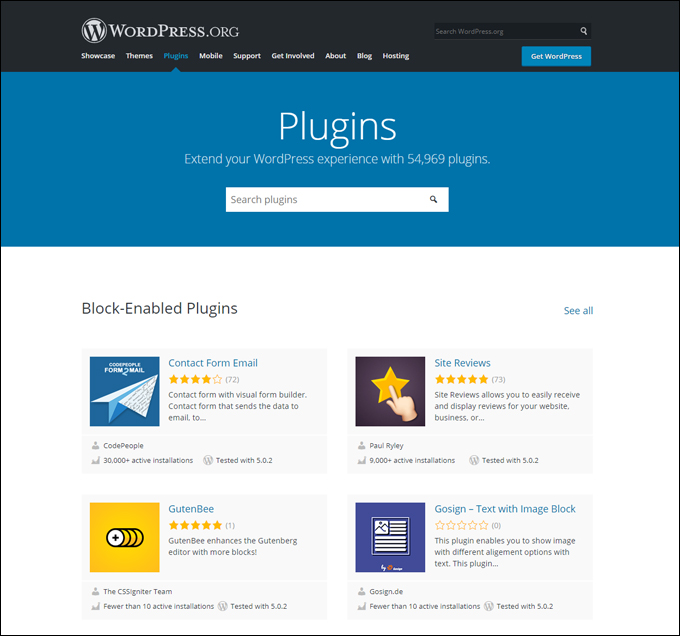 Block-Enabled WordPress Plugins