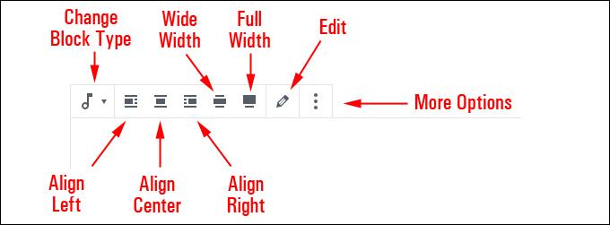 Audio Block Editor