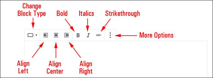 Button Block Editor