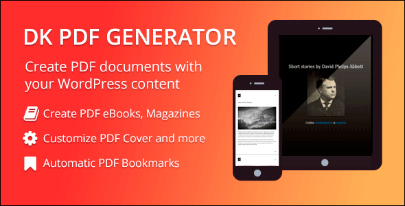 DK PDF Generator addon