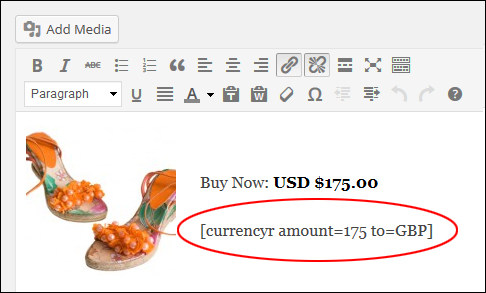 WP Plugin - Currency Conversion