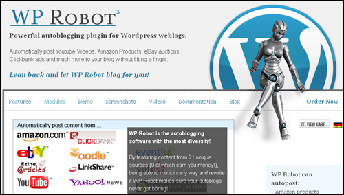 WP Robot - WordPress Plugin