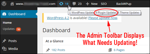 Upgrading And Deleting WordPress Plugins In The Dashboard