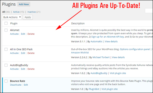 How To Automatically Update And Delete WordPress Plugins