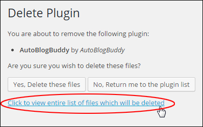Upgrading And Deleting Plugins Safely From Your Dashboard