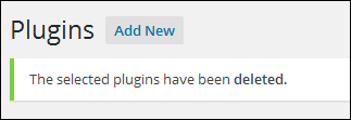 Upgrading And Deleting Plugins Safely Inside Your WordPress Admin Dashboard