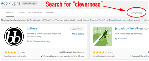 plugin to do lists Cleverness - Cleverness to-do list - Install Cleverness To-Do List