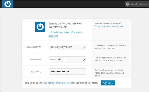 Add A Gravatar To Your WordPress Blog