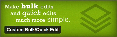 Custom Bulk/Quick Edit Plugin For WordPress